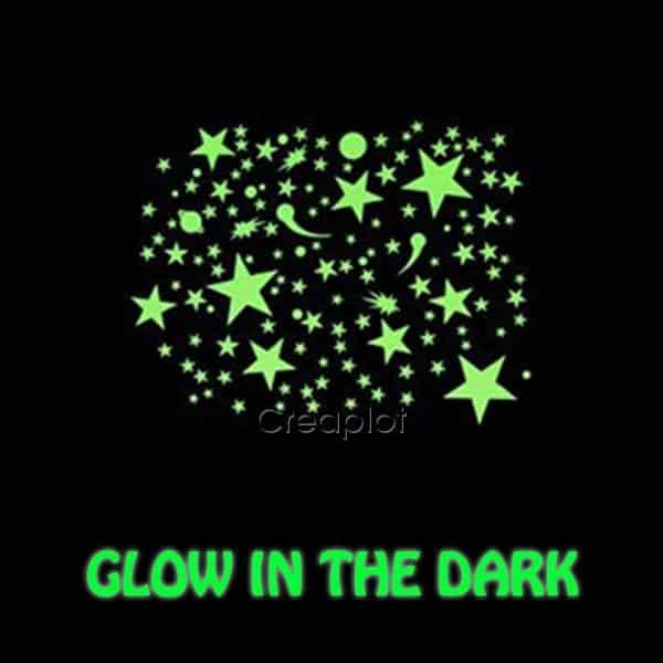 Glow in the dark flex