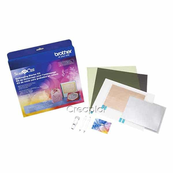 Embossing starterkit Brother