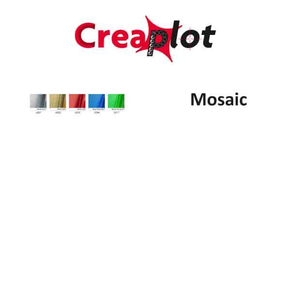 Zelfklevende effectfolie met mosaic effect