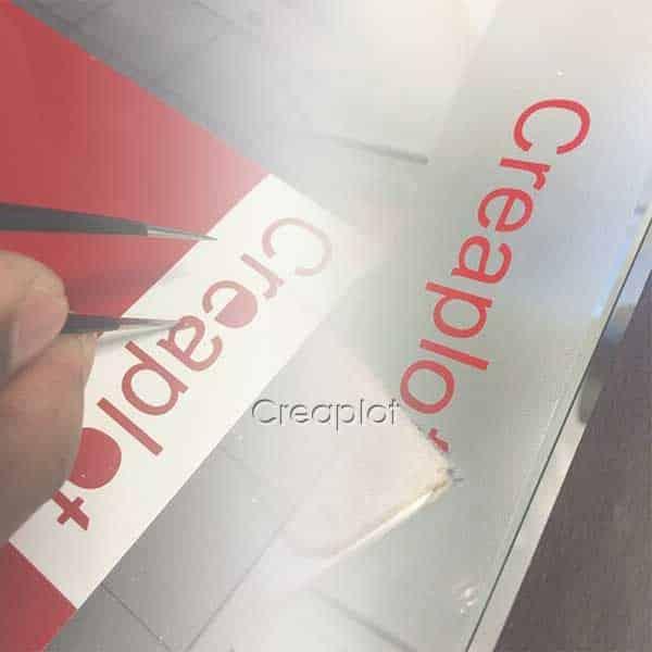 Zelfklevende folie / stickerfolie alle informatie en toepassingen ...