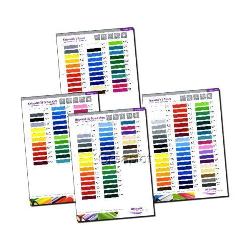 Metamark kleurenkaarten