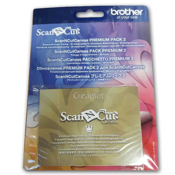 Brother ScanNCut Canvas Premium pack 2