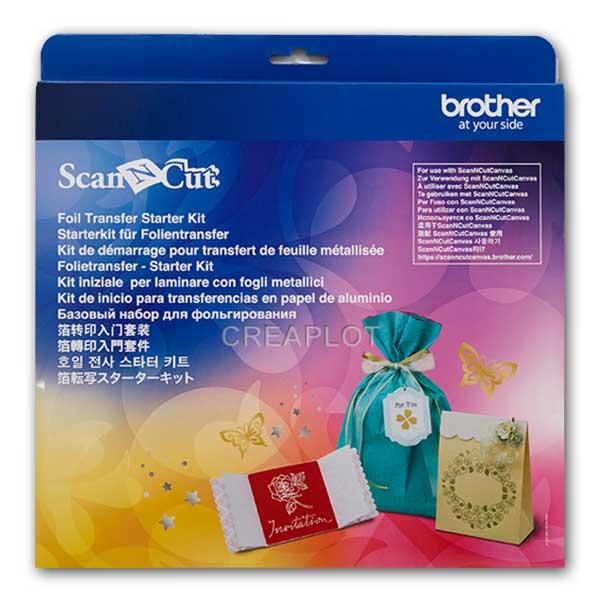 ScanNCut Folie Transfer Starterskit Alles wat je nodig hebt.