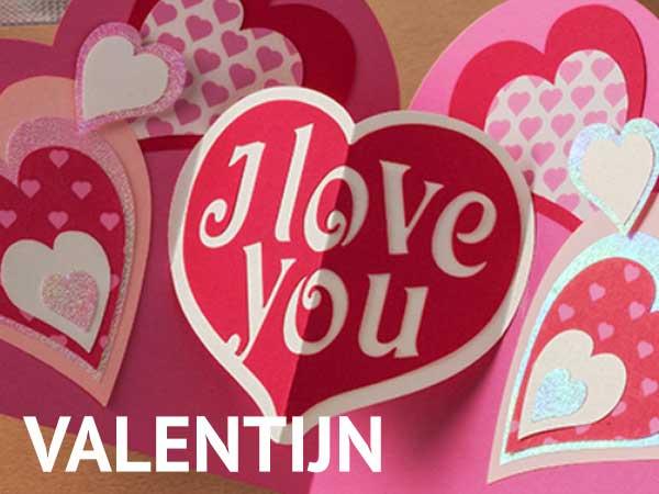 Creatief met valentijn