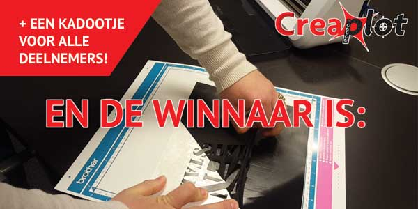 Winnaar brother scanncut cm300