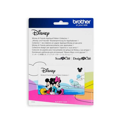 Brother-scanncut-disney-collectie-3 mickey en vrienden