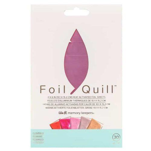 FoilQuill_FoilSheets_Flamingo_Front