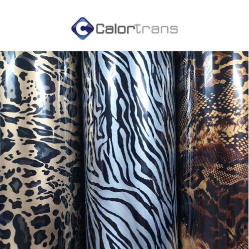 Calortrans dierenprint textielfolie
