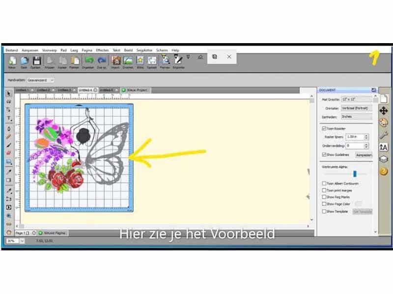 Vlinderdame-tutorial-1
