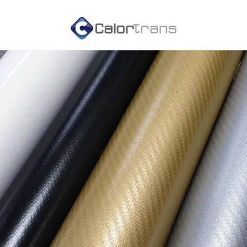 Carbon textielfolie flex van calortrans